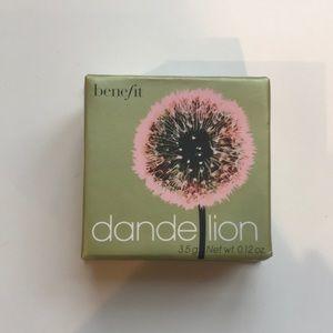 UNUSED Benefit Dandelion Powder Blush